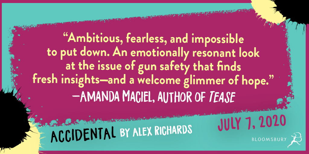 """Ambitious, fearless, and impossible to put down. An emotionally resonant look at the issue of gun safety that finds fresh insights--and a welcome glimmer of hope."" -- Amanda Maciel, author of TEASE"