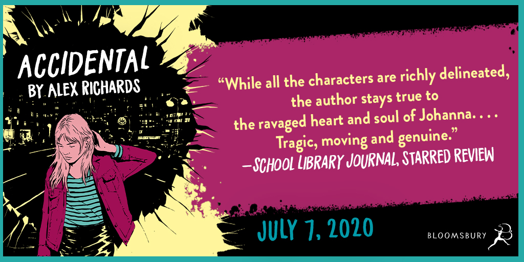 """Richards deftly explores the myriad emotional struggles after an accidental gun death. . . Tragic, moving, and genuine."" -School Library Journal, starred review"